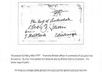 Ed Siskin – Colonial Postal History